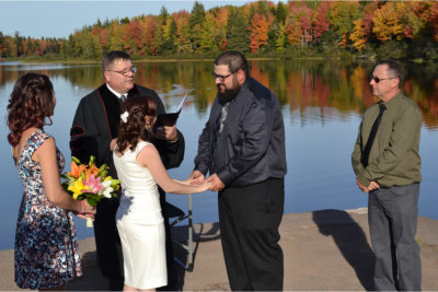 Chris comeau wedding