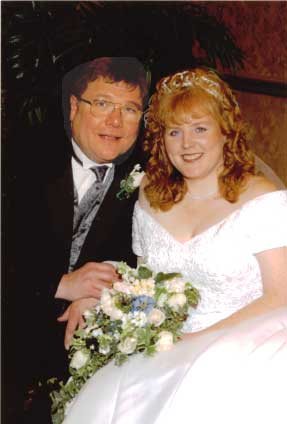 Rev. Dr. John & Mrs. Lisa Merks' wedding March 15 2003