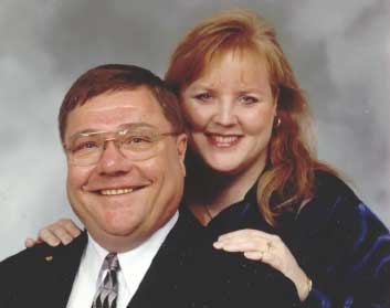 Lisa MacIntyre & Rev. Dr. John Merks - Engagement March 2003 - - Tom Barnes Photo